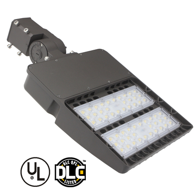 US ship Microwave motion sensor outdoor parking lot 150w led shoebox light replace 450w metal halide