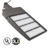 US shipment 5 years warranty Microwave motion sensor parking lot LED shoebox light 140LM/W 300W