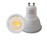 GU10 led spotlight 7W 650lm dimmable 80 degree